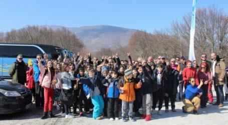 1.000 μαθητές στο Χιονοδρομικό Κέντρο Πηλίου με την «Διεκδίκηση Χιονονιφάδας»