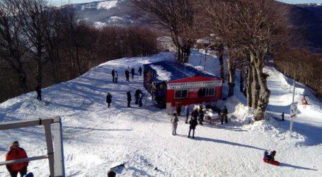 Κλειστό το Χιονοδρομικό Κέντρο Πηλίου