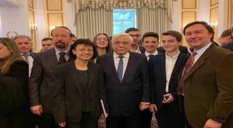 Ο Πρόεδρος της Δημοκρατίας τίμησε την Ολυμπιακή Ομάδα Αστρονομίας – Αστροφυσικής
