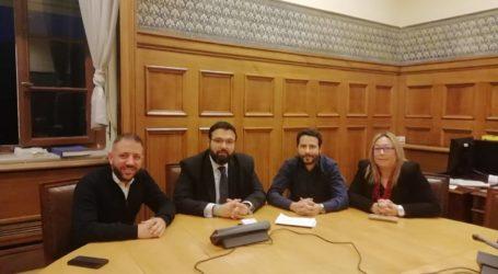 Συνάντηση Μεϊκόπουλου, Αποστολάκη και Κοκκινάκη με τον υφυπουργό Αθλητισμού