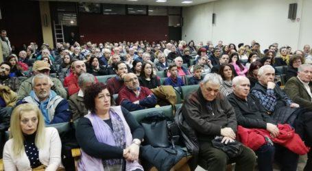 Παρουσιάστηκαν οι υποψήφιοι της «Λαϊκής Συσπείρωσης» για τον Δήμο Βόλου [εικόνες]