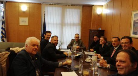 Ο Αλ. Μεϊκόπουλος στο Υπουργείο Υποδομών για την αξιοποίηση του οικοπέδου δίπλα στο γήπεδο «ΠΑΝΤΕΛΗΣ ΜΑΓΟΥΛΑΣ»