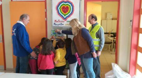 Οι Ενεργοί Πολίτες Λάρισας ενημερώνουν σχολικές μονάδες της πόλης
