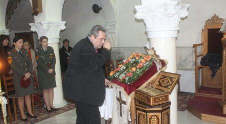 Δείτε εικόνες από την επίσκεψη του Πάνου Καμμένου στον Βόλο