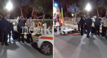 Ασυνείδητος οδηγός τραυμάτισε και εγκατέλειψε πεζό μετά από τροχαίο