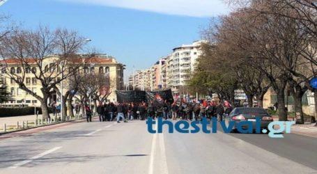 Κινητοποιήσεις διαμαρτυρίας στο κέντρο της πόλης