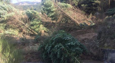 Σοβαρές ζημιές από κατολίσθηση στο Καλέντζι Αχαΐας