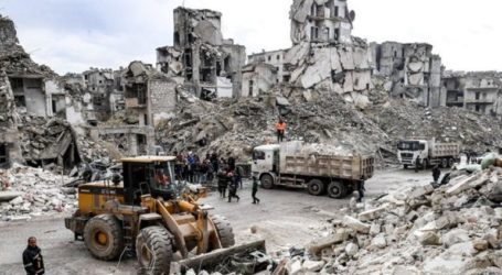 Συρία: Έντεκα νεκροί από κατάρρευση κτηρίου στο Χαλέπι