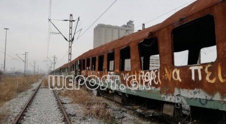 «Νεκροταφείο» τρένων στη Διαλογή Θεσσαλονίκης
