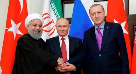 Συνάντηση των ηγετών Ρωσίας, Ιράν, Τουρκίας