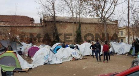 Θεσσαλονίκη: Αστυνομική επιχείρηση στον άτυπο καταυλισμό