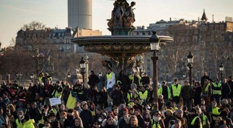 Περίπου 300.000 διαδηλωτές στις κινητοποιήσεις του συνδικάτου CGT και των «κίτρινων γιλέκων»