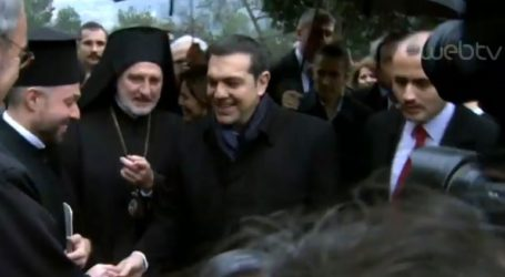 Δείτε LIVE την επίσκεψη Τσίπρα στη Θεολογική Σχολή της Χάλκης