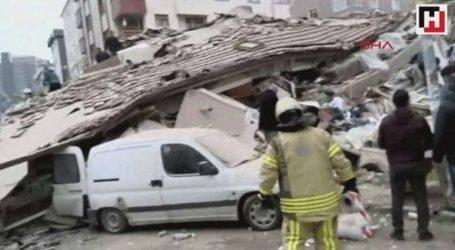 Κωνσταντινούπολη: Κατέρρευσε εξαώροφο κτήριο στο Μάλτεπε