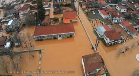 Πλημμύρισε ολόκληρο χωριό στην Αρκαδία