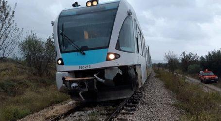 Άγνωστοι έκοψαν καλώδια ηλεκτροκίνησης και εγκλώβισαν τρένο στον Δομοκό