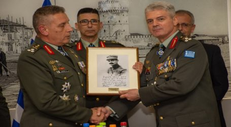 Τελετή Παράδοσης – Παραλαβής Καθηκόντων Διοικητή Γ΄ Σώματος Στρατού/NRDC-GR