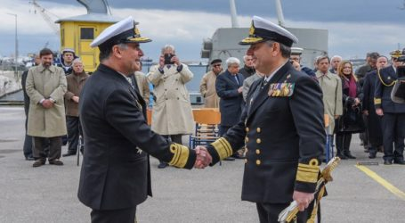 Τελετή Παράδοσης – Παραλαβής Διοικητού Διοίκησης Διοικητικής Μέριμνας Ναυτικού