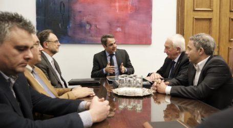Συνάντηση του Κυριάκου Μητσοτάκη με την Επιτροπή για τη διερεύνηση των αιτιών των πυρκαγιών