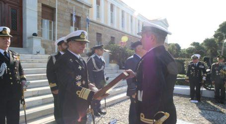 Τελετή Παράδοσης-Παραλαβής Καθηκόντων Διοικητού της Σχολής Εθνικής Άμυνας