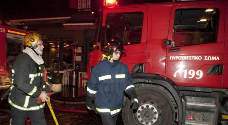 Κατασβέστηκε πυρκαγιά σε διαμέρισμα στις Σέρρες