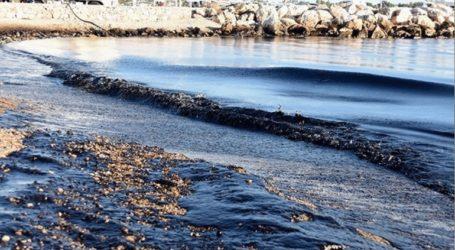 Θαλάσσια ρύπανση διαπιστώθηκε στο αλιευτικό καταφύγιο Νέων Μουδανίων