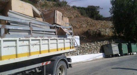 Μήνυση για την κλοπή μεταλλικών κάδων για ογκώδη αντικείμενα στο Κιλκίς