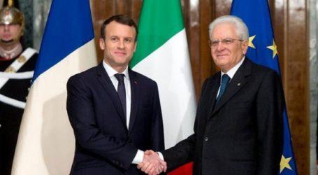 Μακρόν και Ματαρέλα «επαναβεβαίωσαν τη σημασία» της σχέσης Γαλλίας