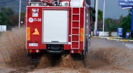 Μπαράζ τηλεφωνημάτων στην Πυροσβεστική λόγω κακοκαιρίας