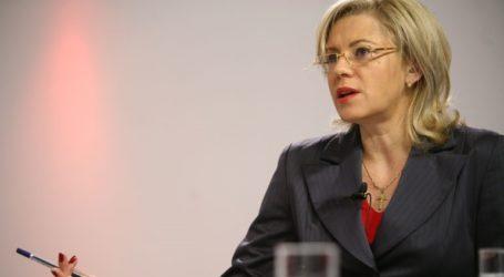 Στην Αθήνα σήμερα η επίτροπος Κορίνα Κρέτσου