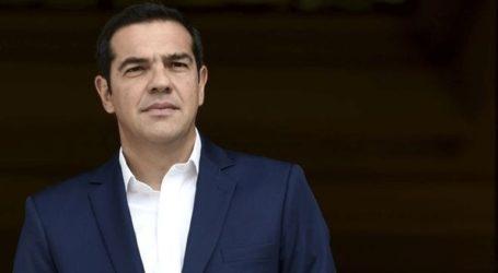 Στα Γραφεία του ΣΥΡΙΖΑ για τη συνεδρίαση της Π.Γ. ο Αλ. Τσίπρας