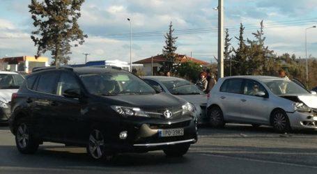 Πολλαπλή καραμπόλα στην εθνική οδό προς Χαλκιδική