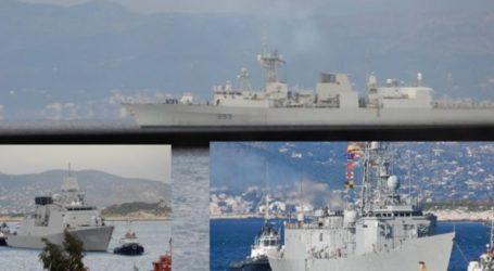 Στον Πειραιά τρία πλοία της ΝΑΤΟικής δύναμης SNMG2