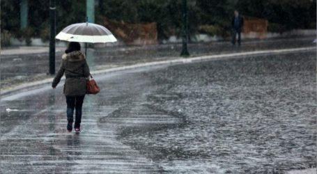 Την προσοχή των πολιτών εφιστά η Πολιτική Προστασία λόγω των έντονων βροχοπτώσεων