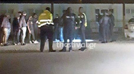Aιματηρή συμπλοκή οπαδών ΠΑΟΚ και Άρη στο Μελισσοχώρι Θεσσαλονίκης