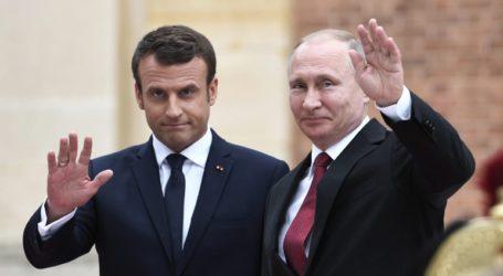 Τηλεφωνική επικοινωνία του Εμανουέλ Μακρόν με τον Βλαντίμιρ Πούτιν για τη Συρία