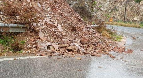 Κρήτη: Κατολισθήσεις στην Εθνική Οδό
