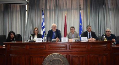 Συνάντηση με τους πολιτιστικούς φορείς της Λάρισας είχε η Υπουργός Πολιτισμού Μυρσίνη Ζορμπά