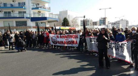 Συγκέντρωση διαμαρτυρίας των κατοίκων Κορδελιού
