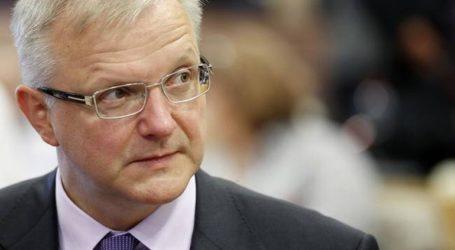 Ο Όλι Ρεν βλέπει εξασθένηση της οικονομίας της ευρωζώνης
