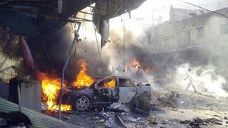 Τουλάχιστον 15 άνθρωποι σκοτώθηκαν από διπλή έκρηξη στην Ιντλίμπ