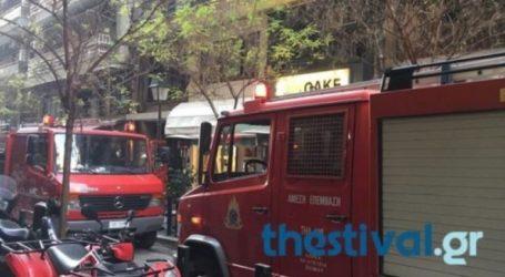 Φωτιά σε διαμέρισμα στην Πυλαία Θεσσαλονίκης
