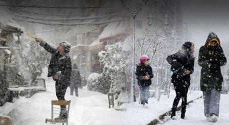 Χιονοκαταιγίδα διαρκείας θα πλήξει τη χώρα
