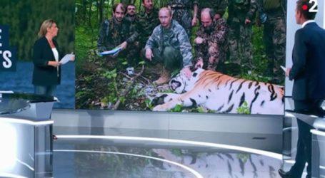 Βραβείο fake news στο France 2 για το «κυνήγι τίγρεων» του Πούτιν