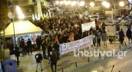 Αντιρατσιστική πορεία στη Νεάπολη Θεσσαλονίκης