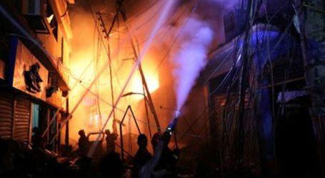 Τουλάχιστον 41 νεκροί από πυρκαγιά σε αποθήκη χημικών