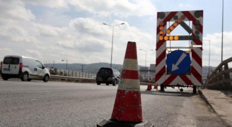Εργασίες συντήρησης στην Εθνική Οδό Θεσσαλονίκης-Νέων Μουδανιών