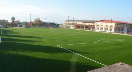 Παραδίδεται αύριο το ανακατασκευασμένο δημοτικό γήπεδο Πετρωτού