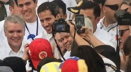 Συνάντηση Γκουαϊδό με τους προέδρους της Κολομβίας, Χιλής και Παραγουάης