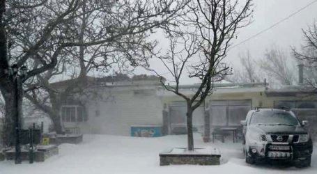 Χιόνια σε ορεινές περιοχές της Λάρισας